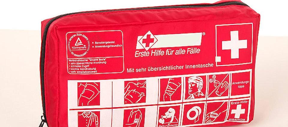 Verbandskasten nach DIN 13164